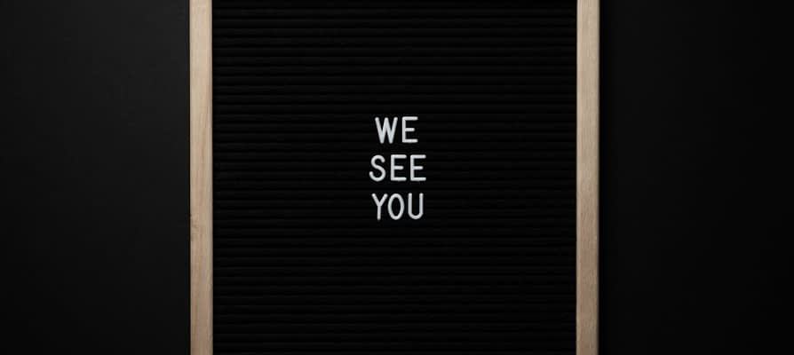 When You See Me…